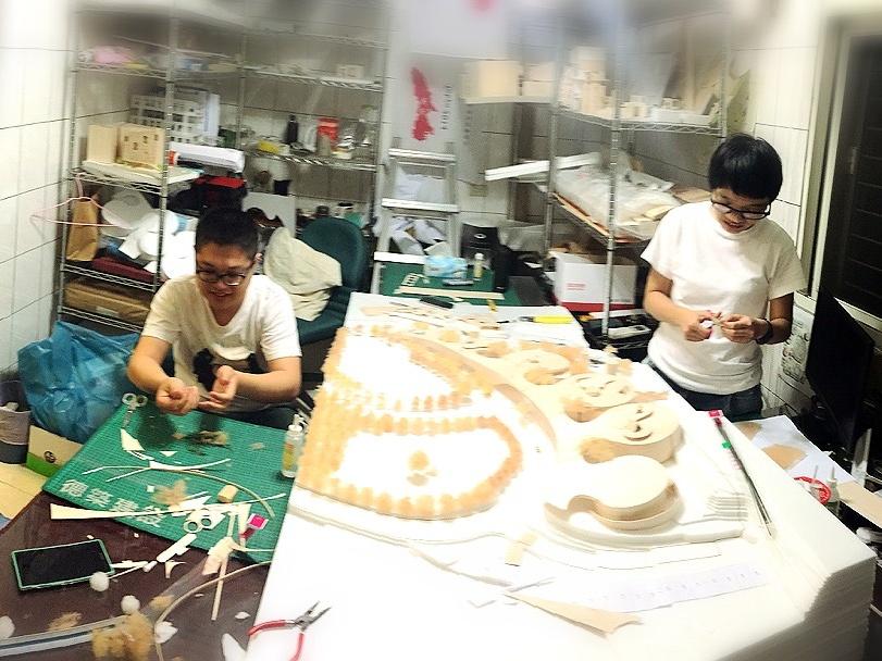 德築-DEZU-project-龍潭森活村-architecture-building-model-1