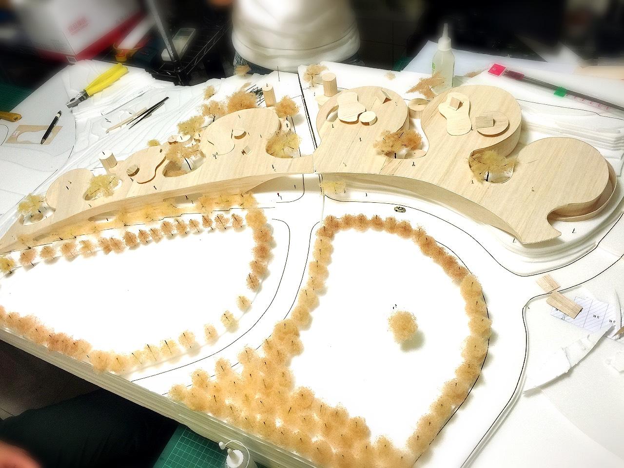 德築-DEZU-project-龍潭森活村-architecture-building-model-6