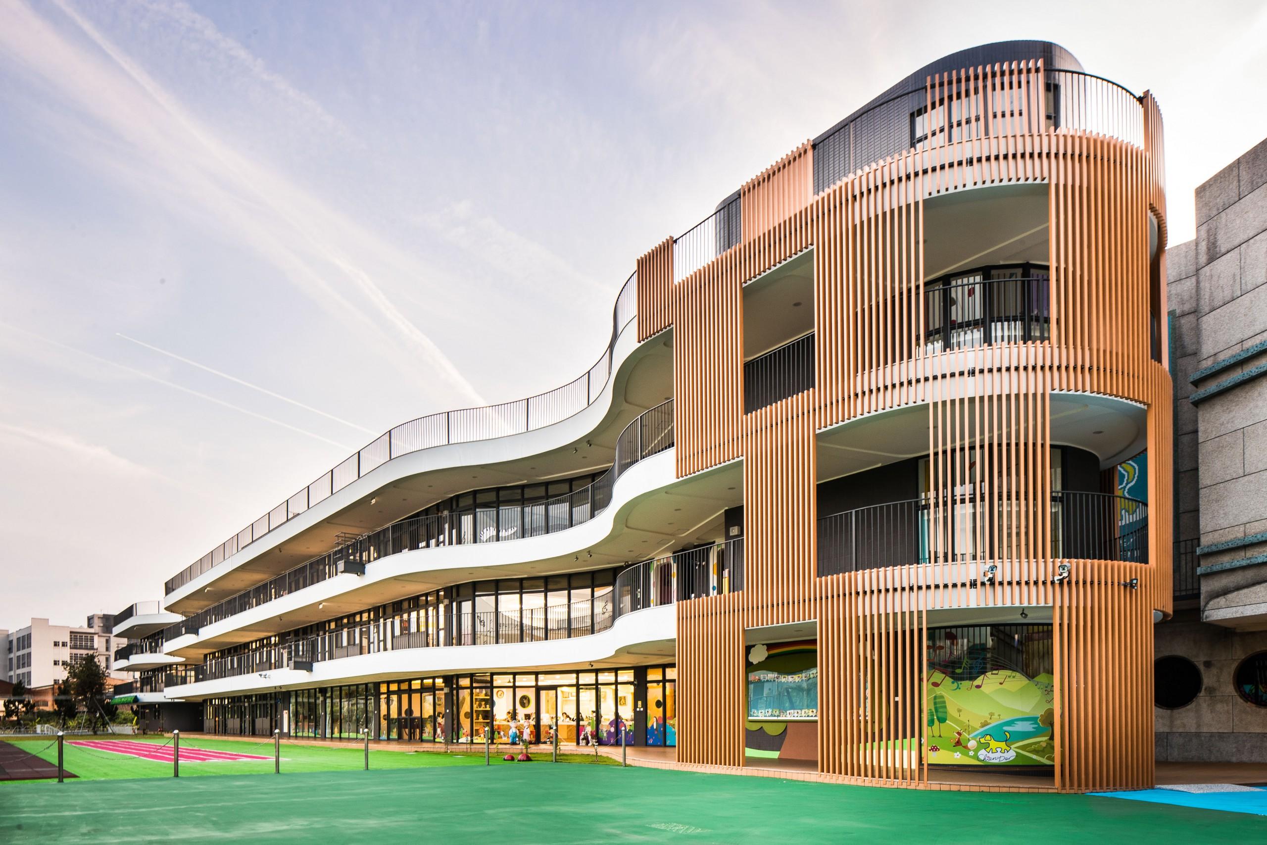 新北市成德幼兒園,宜蘭建築師,德築建設幼兒園設計