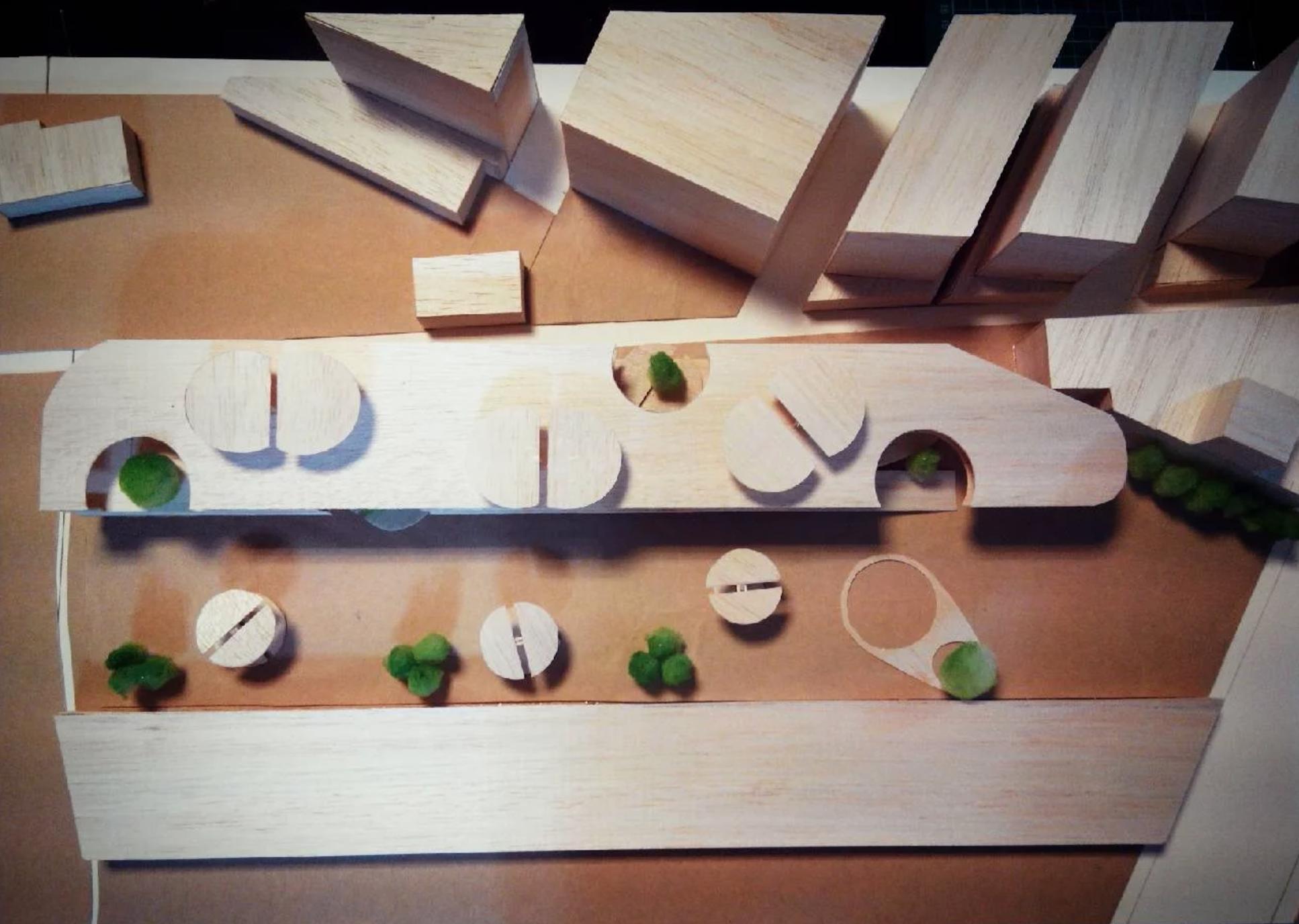 新北市成德幼兒園,建築模型