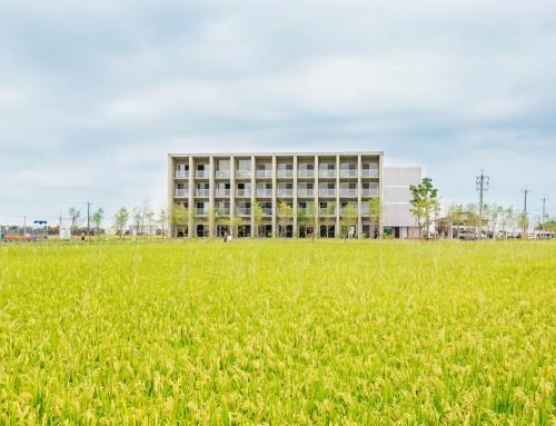 與田相映的雲系住宅:築田運動生活村
