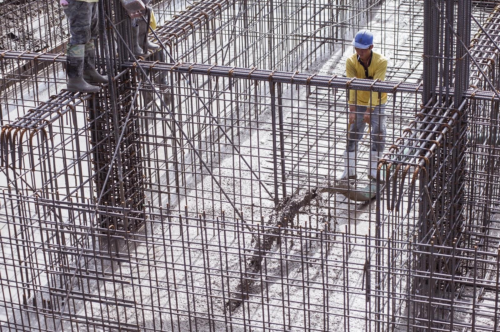 德築建設-宜蘭建案-築米-混凝土灌漿
