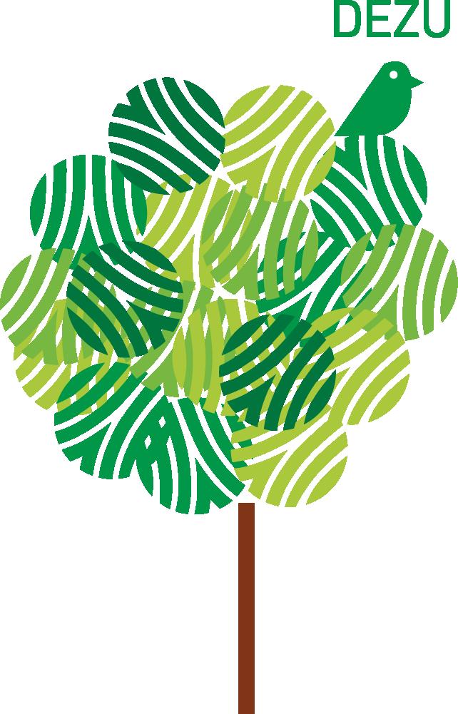 德築-DEZU-logo-tree