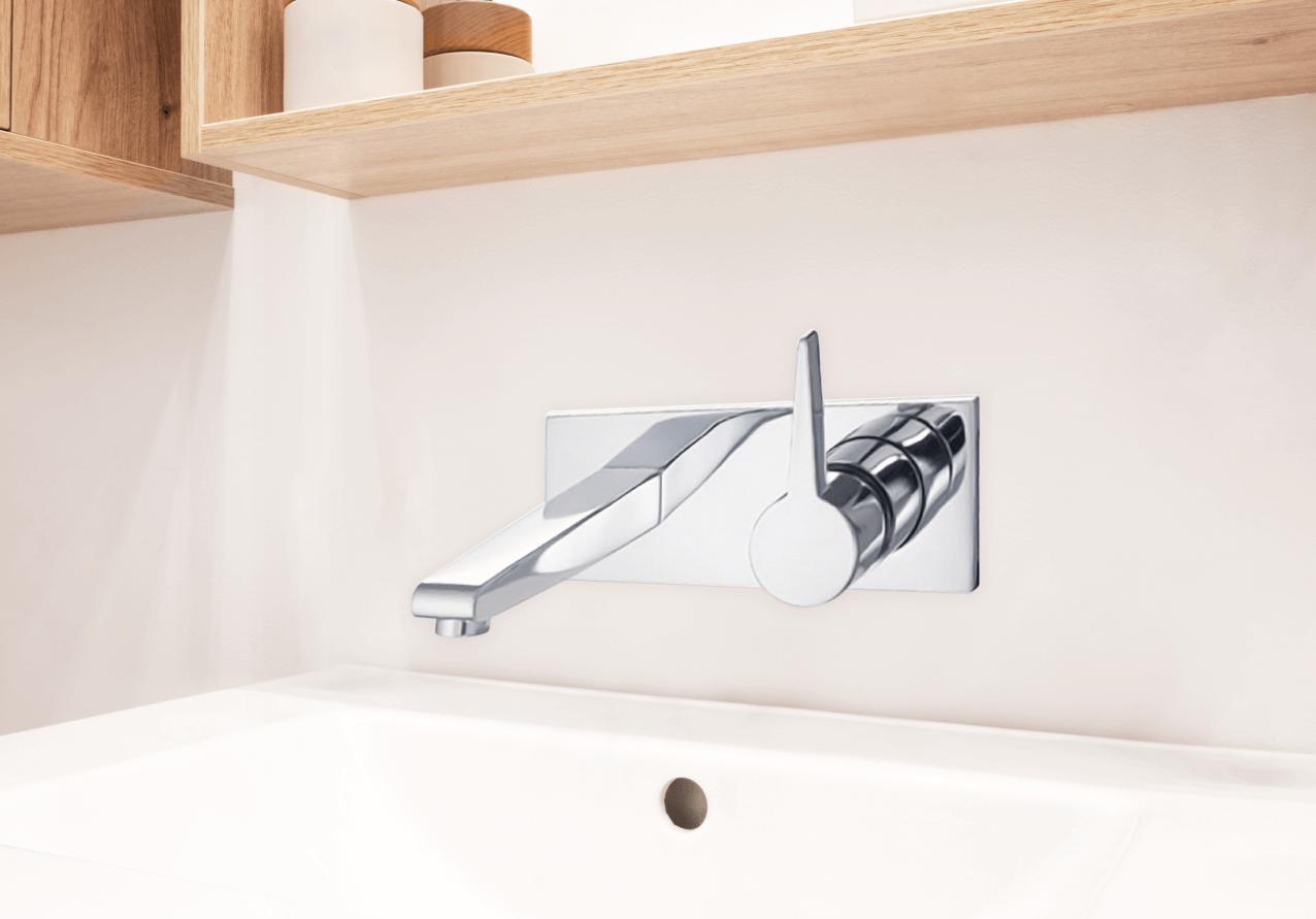 德築建設-築米衛浴採用高質感壁面出水