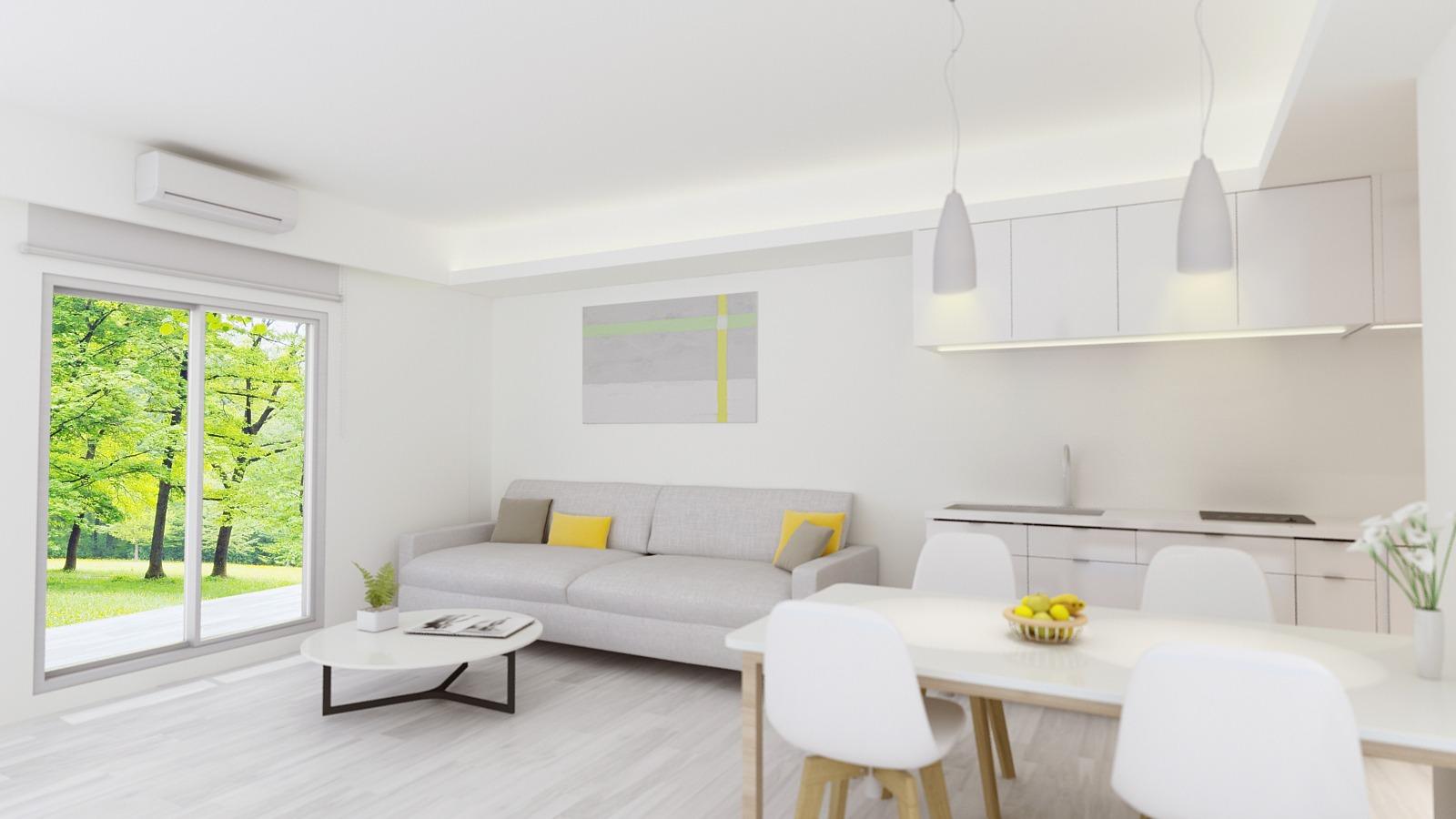 宜蘭德築建設,築米美學智慧宅開放式廚房設計
