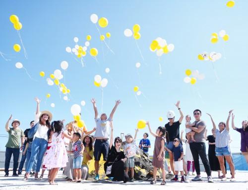 黃白米粒夢想起飛!築米美學生活村齊聚動土,德築開工派對就是超乎想像的好玩!