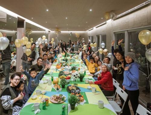 用創意流水席啟動開村派對,德築充滿宜蘭Lifestyle的生活美學,永遠走在最前端!